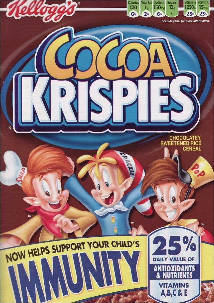 Cocoa Krispies will make your child invincible