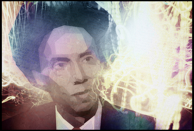 stylized photo of malcolm gladwell